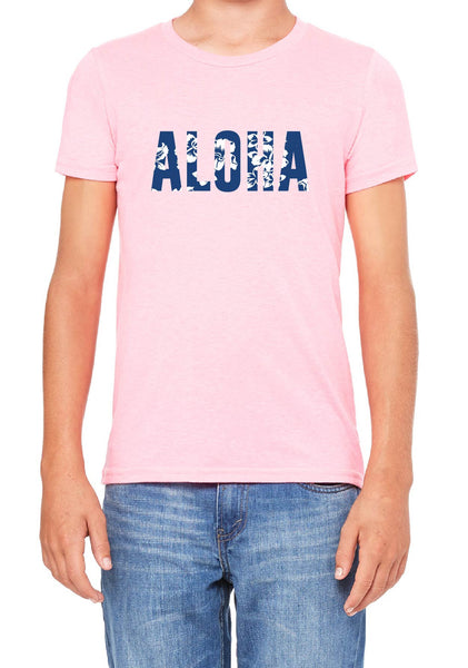 Youth Aloha Short Sleeved T-Shirt