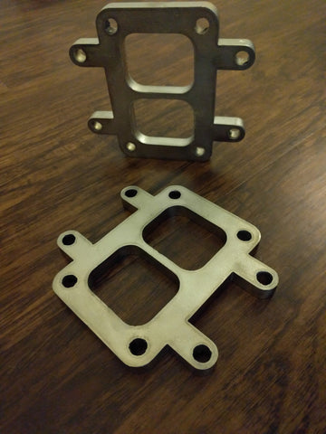 T6 Turbo Flange - Select Options at checkout.