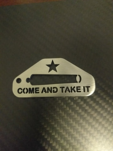 Come and Take it Keychain