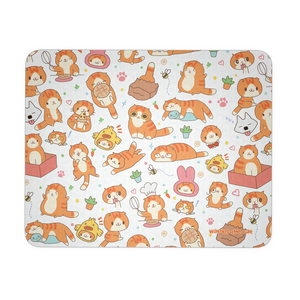 Cute Waffles Mousepad