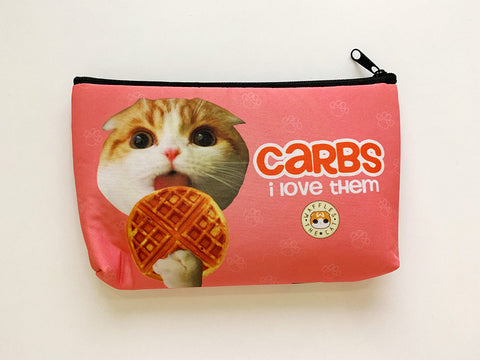 Zipper Pouch - Carbs: I Love Them