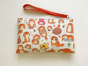 Cute Kawaii Zipper Pouch