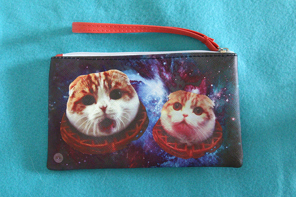 Pouch: Space Waffles
