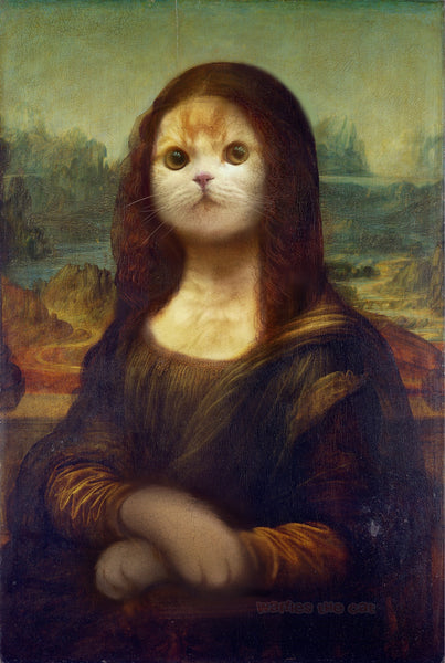 Mona Lisa - Cat Version (Meowna Lisa)