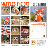 SOLD OUT Waffles 2017 Calendar