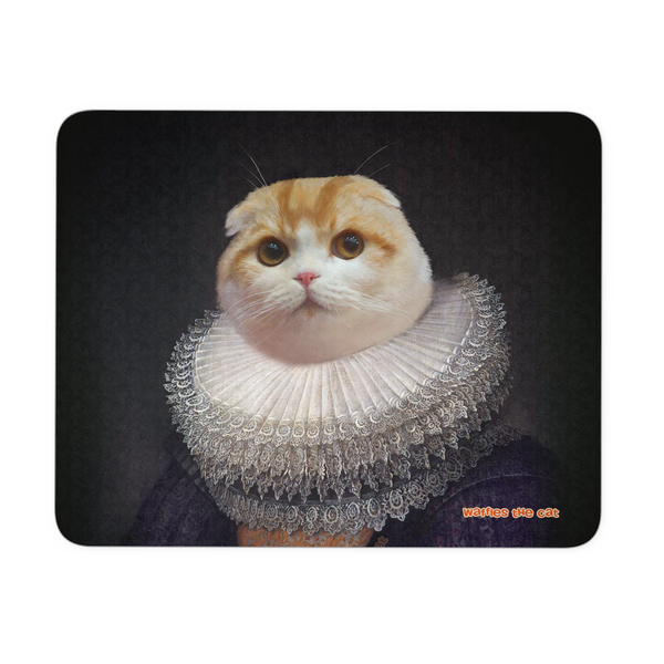 Waffles Collar Mousepad