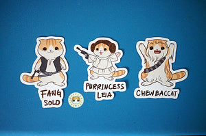 Star Paws - Rebels Sticker
