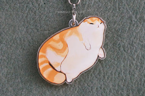 Waffles Keychain/Charm - Blorp