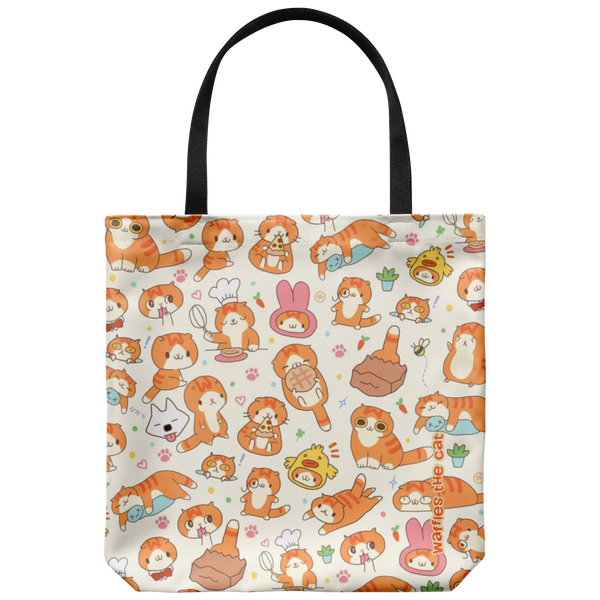 Cute Waffles Tote Bag