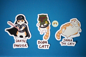 Star Paws - Dark Side Sticker Set