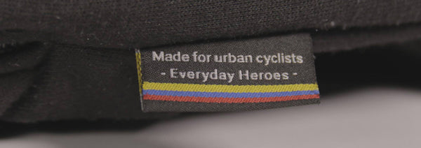 made for urban cyclists everyday heroes sweater detail