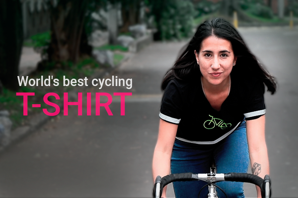 worlds best urban cycling t-shirt