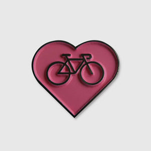 Love Bicycle Pin