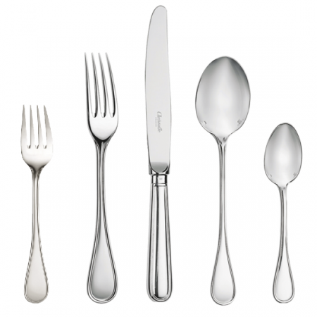 Albi Silver-Plated Five Piece Place Setting