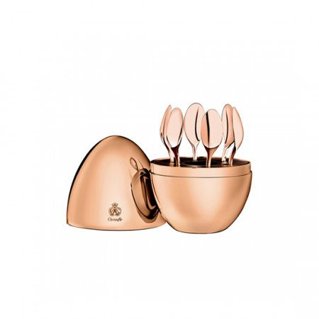 7-Piece Mood Rose Good Espresso Spoon Set