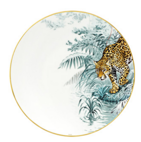 Carnets d'Equateur Jaguar Dinner Plate
