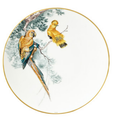Carnets d'Equateur Birds Dinner Plate