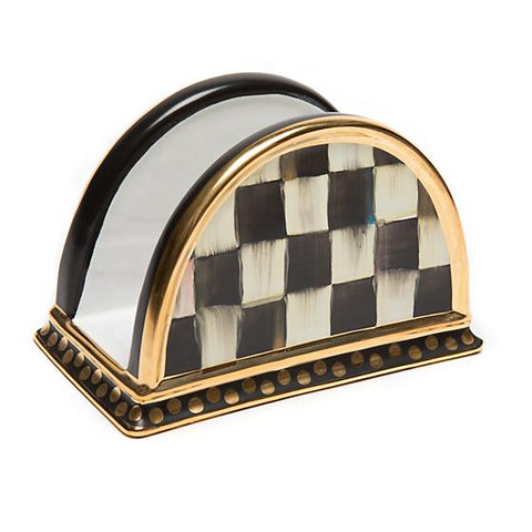 Courtly Check Napkin Holder