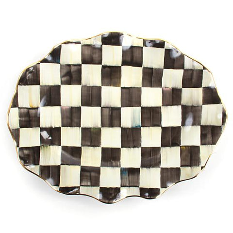 Courtly Check Large Serving Platter