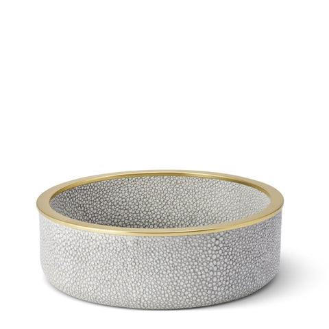 Shagreen Wine Coaster Dove