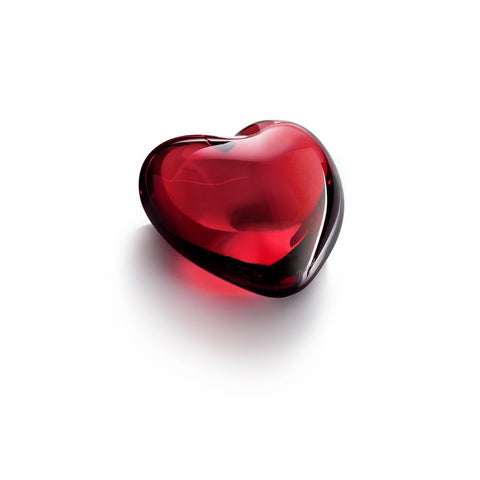 Puffed Heart Red