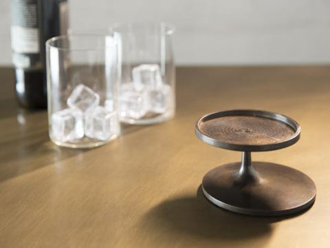 Single Brass Bottle Stand