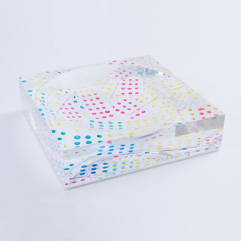 Dancing Dots Candy Dish
