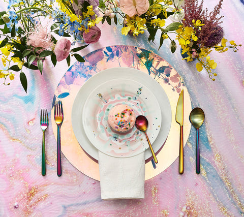 Luna Iridescent Placemat, Set of 4