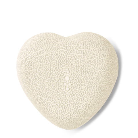 Shagreen Heart Box Cream