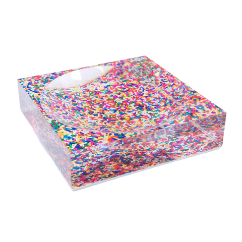 Sassy Sprinkles Candy Dish