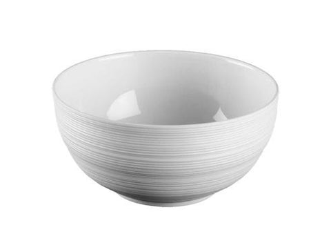 Hemisphere White Soup Bowl