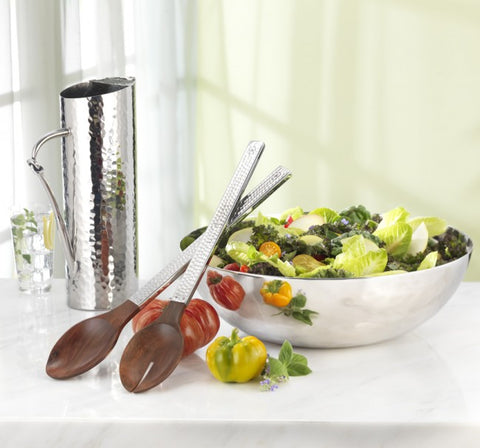 Valencia Rosewood Salad Server Set
