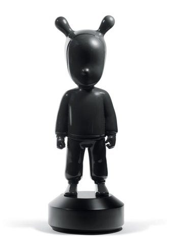 The Black Guest Figurine. Large Model.