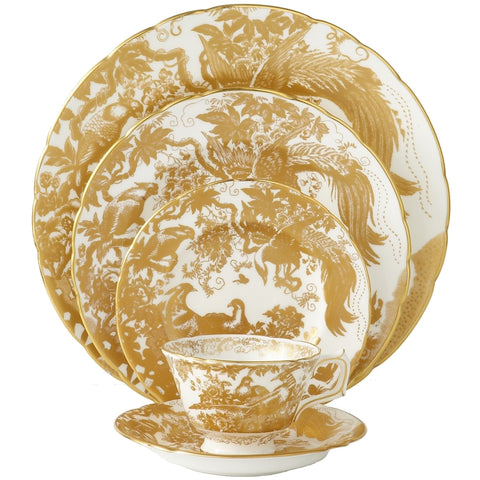 Aves Gold Dinnerware