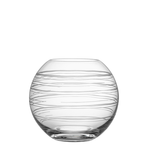 Graphic Vase Round Medium