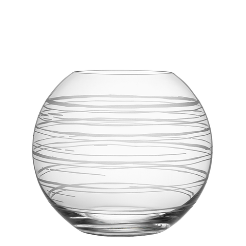 Graphic Vase Round Large
