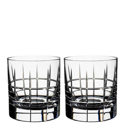 Street Whiskey Glass, Pair