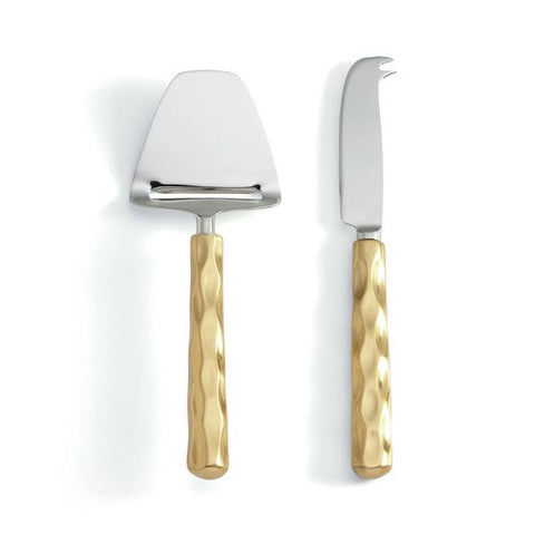 Truro Gold Cheese Shaver & Knife Set