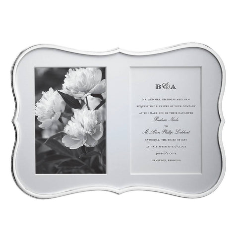 Crown Point Double Invitation Frame
