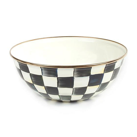 Courtly Check Enamel Everyday Bowl Medium