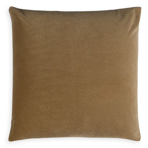 Dip-Dyed Square Pillow Camel