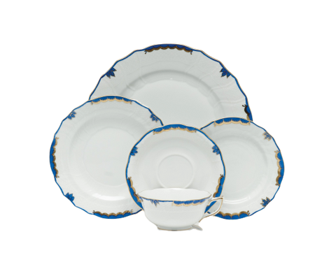 Princess Victoria Blue Dinnerware