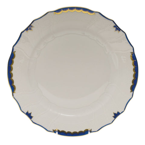 Princess Victoria Blue Dinner Plate