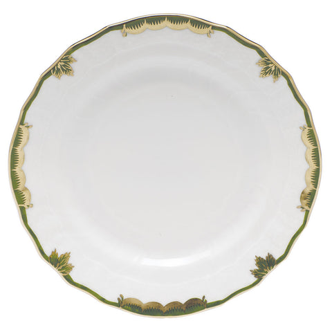 Princess Victoria Dark Green Bread & Butter Plate