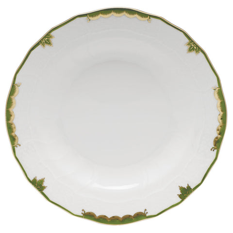 Princess Victoria Dark Green Dessert Plate