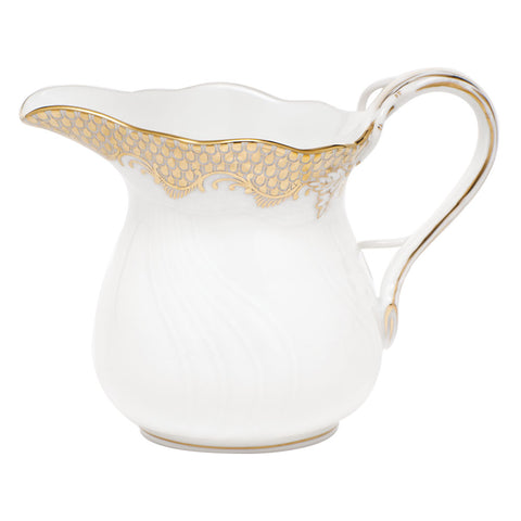 Fish Scale Creamer Gold