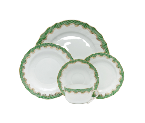 Fish Scale Dinnerware Jade
