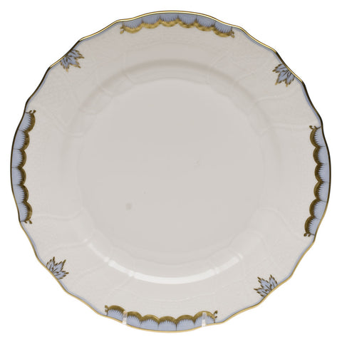 Princess Victoria Light Blue Dinner Plate