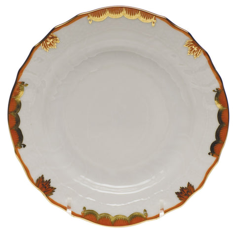 Princess Victoria Rust Bread & Butter Plate