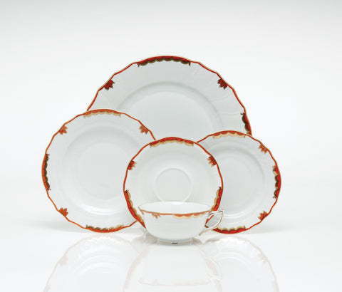 Princess Victoria Rust Dinnerware
